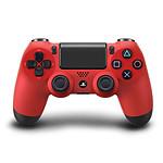Sony DualShock 4 (rouge)