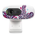 Logitech HD Webcam C270 White Paisley