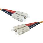 Câble fibre optique multimode OM2 50/125 SC/SC (15 mètres)