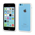 Muvit Housse bimatière blanche pour iPhone 5C