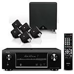 Denon AVR-X1000 Noir + Boston SoundWareXS 5.1 Noir