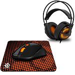 SteelSeries Heat Orange Gaming Pack