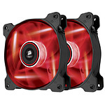 Corsair Twin Pack Air Series AF120 Red Quiet Edition High Airflow