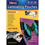 Fellowes Pochettes brillantes A3 80µ x 25