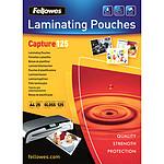 Fellowes Pochettes brillantes A4 125µ x 25