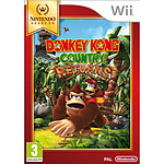 Donkey Kong Country Returns - Nintendo Selects (WII)