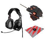 Mad Catz Gaming Pack MMO