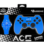 SubSonic ACE Controller Bleu  Edition Limitée (PS3)