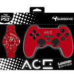 Subsonic ACE Controller Rouge Edition Limitée (PS3)