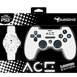 Subsonic ACE Controller Blanc Edition Limitée (PS3)