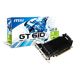 MSI GeForce GT 610 N610-2GD3H/LPL 2GB