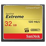 SanDisk Carte mémoire Extreme CompactFlash 32 Go