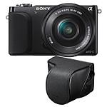 Sony Nex-3NL Noir avec objectif 16-50mm + Housse LCS-EJC3 + Carte SD 8 Go