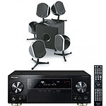 Pioneer VSX-923-K + Focal Bird Pack 5.1 Noir & Cub3
