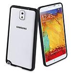 Muvit Etui Bi-matière contour Noir pour Samsung Galaxy Note 3