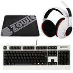 Zowie Gear Pro Gaming Pack (blanc)