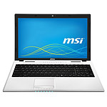 MSI CR61 2M-651XFR Blanc + 2 Go RAM SO-DIMM DDR3 offert*