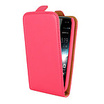 Swiss Charger Etui Flip Rose pour Wiko Cink Slim