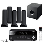 Yamaha RX-V675 Noir + 5 Focal Sib XL Jet Black + Focal Cub 3 Jet Black