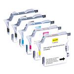 LDLC pack économique compatible Brother LC985 (2 BK + C + M + Y)