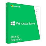 Microsoft Windows Server 2012 R2 Essentials OEM (DVD) 64 bits (français) - Licence 1 serveur (1-2 CPU)