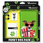 Subsonic Funky Animals Dog Green Pack XL (Nintendo 3DS XL et DSi XL)