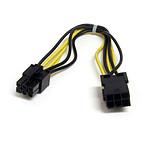 StarTech.com Adaptateur d'alimentation PCI-Express mâle/femelle 6 pins