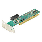 Adaptateur PCI pour carte PCI-Express 1x format Low Profile