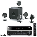Yamaha RX-V375 Noir + Focal Little Bird Pack 5.1 Noir