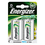 Energizer Accu Recharge Power Plus D 2500 mAh (par 2) 1.5V