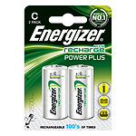 Energizer Accu Recharge Power Plus C 2500 mAh (2 unidades)