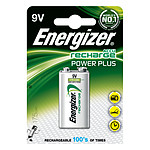 Energizer Accu Recharge Power Plus 9V 175 mAh (una unidad)