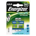 Energizer AccuRecharge Extreme Blister de 2 piles HR03 800 mAh