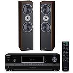 Sony STR-DH130 + Magnat Monitor Supreme 802 Noir