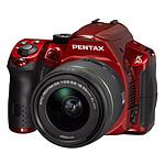 Pentax K-30 + Objectif DA 18-55mm f/3,5-5,6 AL WR Rouge Brillant