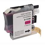 Cartouche compatible LC121/LC123/LC125 (Magenta)