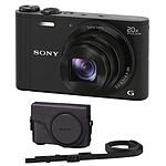 Sony DSC-WX300 Noir + Sony LCJ-WD Noir