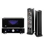 Focal Aria 936 Black High Gloss (par paire) + Advance Acoustic X-A220 + Advance Acoustic X-Preamp