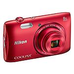 Nikon Coolpix S3600 Rouge
