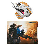 Mad Catz Titanfall Edition Gaming Pack : R.A.T. 3 +  G.L.I.D.E.3