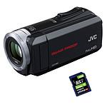 JVC GZ-R15 Noir + Carte SD 8 Go