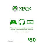 Microsoft Xbox Live Gift Card (50 €)
