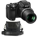 Nikon Coolpix L830 Noir + Nikon CS-P08 Noir