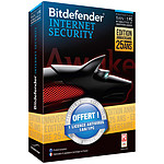 Bitdefender Internet Security 2014 1 an 1 Pc + 1 Antivirus 1 an 1 Pc OFFERT