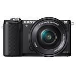 Sony Alpha 5000 Noir + Objectif 16-50 mm