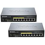 D-Link DGS-1008P x2