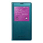 Samsung EF-CG900BG - Etui Clear Cover Rabat Bleu Menthe pour Galaxy S5