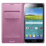 Samsung Flip Wallet Rose Galaxy S5