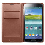 Samsung Flip Wallet Or pour Galaxy S5