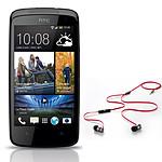 HTC Desire 500 Noir + Beats urBeats OFFERT !